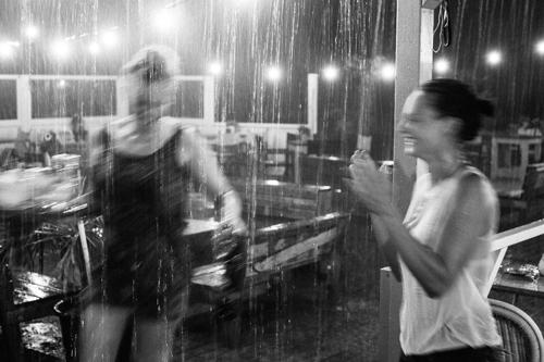 Regen Scheveningen Larry Kook