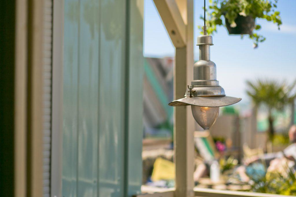 The Fat Mermaid lamp veranda