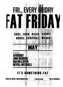 fat friday MAY 1
