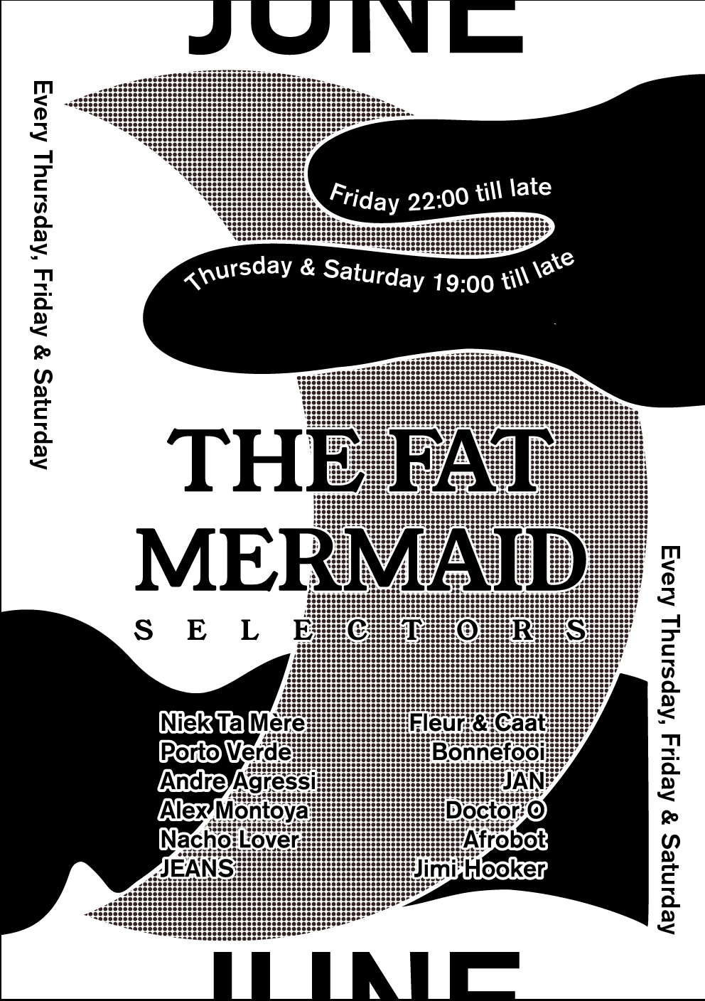 JUNE THET FAT MERMAID